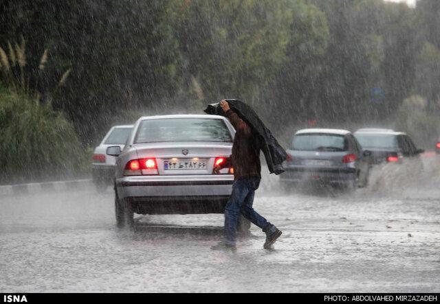بارش های رگباری در خراسان رضوی در 72 ساعت آینده