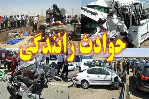 تلفات حوادث رانندگی در سال نود و هفت 1.2 درصد افزایش یافت