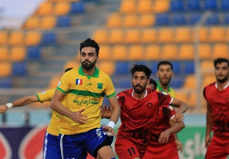 جام حذفی فوتبال، صعود صنعت نفت آبادان با شکست قشقایی در شیراز